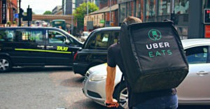 UberEats maaltijdbezorger