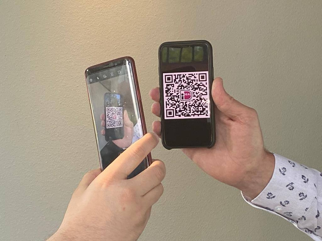QR-codes voor bezorgrestaurants: contactloos betalen aan de deur